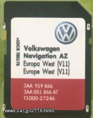 Volkswagen Skoda Seat rns315 2019 SD Card MAP Update v11 - € 50 - Car gr