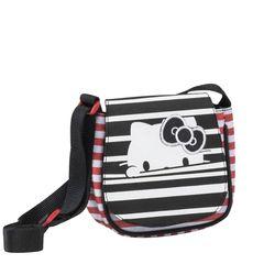 5c78fc0682 Hello Kitty Stripes 188352 τσαντάκι ώμου με καπάκι