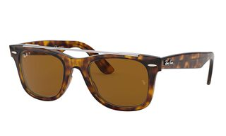5f85f2c9bc Ray-Ban Wayfarer Double Bridge Polarized RB4540 710 57 50 - Ray-Ban