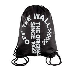 d0d40265ff Vans League Bench Bag TDV Black White Backpack VN0002W6TDV1