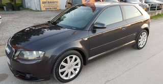 Audi A3 S LINE,TURBO 200PS!!!