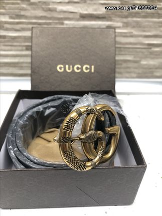 f0c68e1449 Ζώνη Gucci Snake Δερμάτινη - € 49 EUR - Car.gr