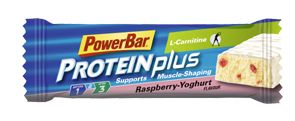 PowerBar - Protein Plus L-Carnitine Bar,Βατόμουρο-Γιαούρτι, 35 gr, (πρώην Fit 'n'lite + Carnitine)
