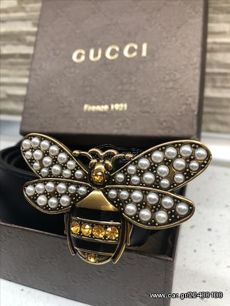ed3be8e6be Ζώνη Gucci Bee Limited Edition Δερμάτινη replica - € 55 EUR - Car.gr