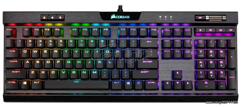 Corsair K70 RGB MK 2 Gaming kayboard - € 120 - Car gr