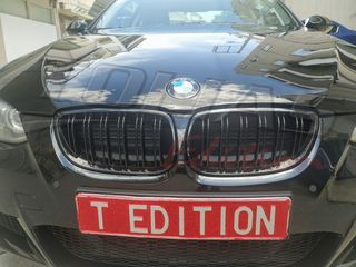 BMW SERIES 3 E92 - 93 06-09 SPORT GRILLE GLOSS BLACK WITH TW...