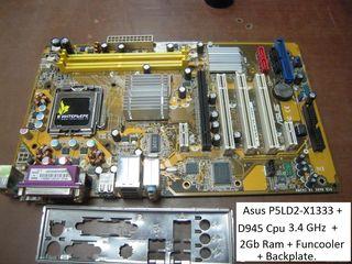 ASUS P5LD2-X//1333 Socket 775 ATX MotherBoard