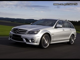 C63 AMG-LOOK BODY KIT ΓΙΑ MERCEDES C-CLASS W204 COMBI (AΠΟ 2007+)