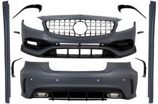 Complete Body Kit with Grille suitable for MERCEDES A-Class ...