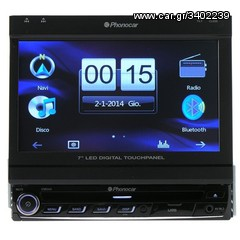 "ΟΘΟΝΗ 7"" GPS BLUETOOTH USB SD DVD VM 044 PHONOCAR ΑΠΟΣΠΩΜΕΝΗ..."