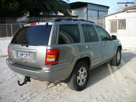 Jeep Grand Cherokee LIMITED 4.7 V8 '04 - 5.800 EUR