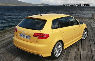 AUDI A3 8P 5 DOOR SIDE SKIRTS - S3 LOOK