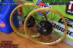 RACING BOY GOLD-BLACK C50C GLX