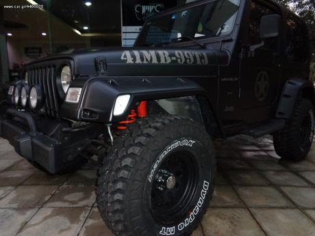 "Jeep Wrangler 4.0 ""BLACK ARMY""  LIMITED '00 - 0 EUR"