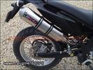 ΕΞΑΤΜΙΣH ΤΕΛΙΚO EXO7 OVAL INOX  DERBI CROSS CITY
