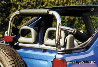 ROLL BAR INOX  ΓΙΑ SUZUKI JIMNY CABRIO