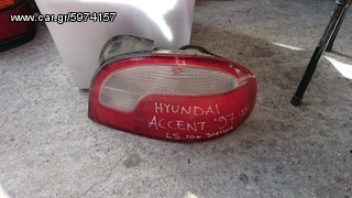 HYUNDAI ACCENT SDN 97-99 ΠΙΣΩ ΦΑΝΑΡΙΑ