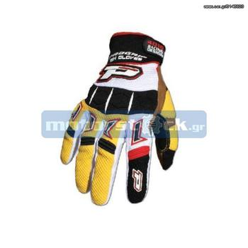ΓΑΝΤΙΑ PRO GRIP MX YELLOW - € 25 EUR