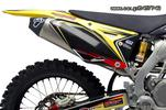 Εξάτμιση Ολόσωμη Termignoni Racing Inox Pipe Titanium/Carbon End Τελικό Suzuki Rmz 450 2008-2014 - € 685 EUR