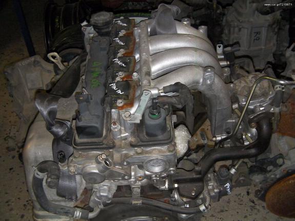 ΚΙΝΗΤΗΡΑΣ MITSUBISHI PAJERO PININ 2 0 GDI 4G94 2001-2007 - € 600 - Car gr