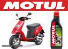 Motul scooter expert 2T technosynthese anti-smoke 1L