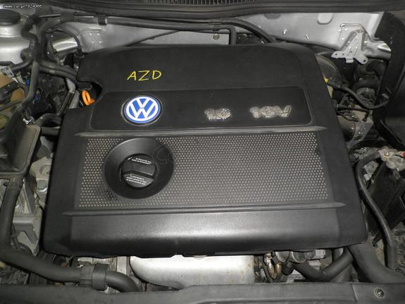 0aeea96ef4 VW GOLF4 1600 16v AZD KOLLIAS MOTOR - € 1 EUR - Car.gr