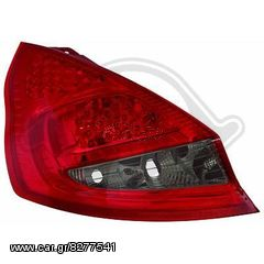 FORD FIESTA LED  ΦΑΝΑΡΙΑ ΠΙΣΩ RED-ΚΟΚΚΙΝΟ