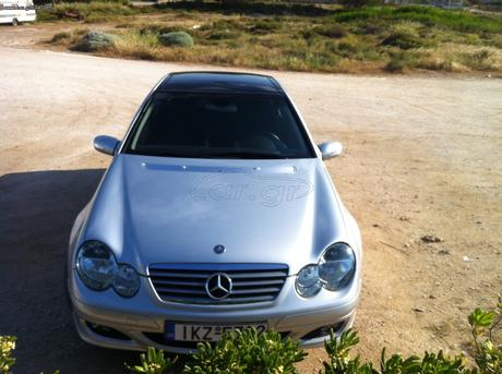 Mercedes-Benz C 180 SPORTS COUPE KOMPRESSOR '04 - 11.500 EUR (Συζητήσιμη)