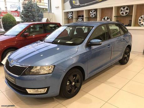 Skoda Rapid SPACEBACK 1.6TDI 116hp  '17 - 16.600 EUR