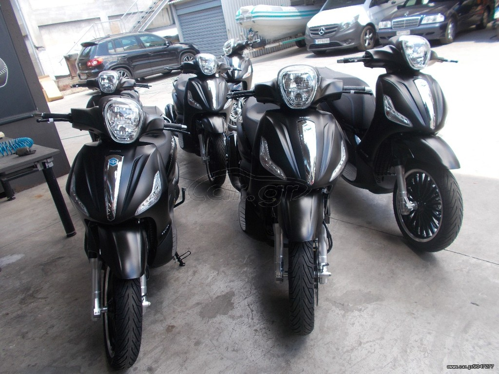 piaggio beverly 300 police abs '2017 - 4480.0 eur - car.gr