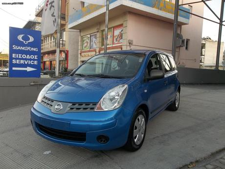 Nissan Note FULL EXTRA  '09 - 5.300 EUR
