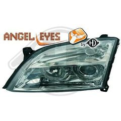 OPEL VECTRA C ANGEL EYES ΧΡΩΜΙΟ/CHROME