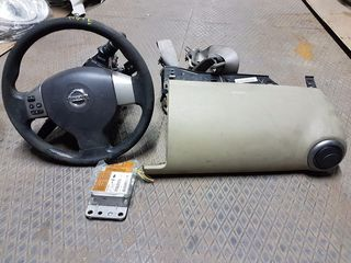 NISSAN NOTE '04-'13 // ΤΑΜΠΛΟ, ΤΙΜΟΝΙ & ΣΕΤ AIRBAG