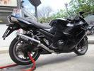 ARROW NEW ALUMINIUM BLACK CARBON END ΓΙΑ KAWASAKI ZZR 1400  ...
