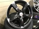 "REPLICA FOR AUDI 17"" T3 BLACK"