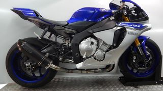 Race Guns Exhausts  Hexagon Black YAMAHA R1